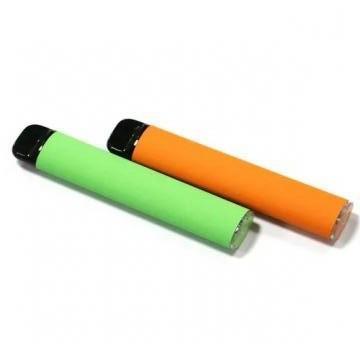 clear tube packaging 0.5ml disposable cbd vape pen