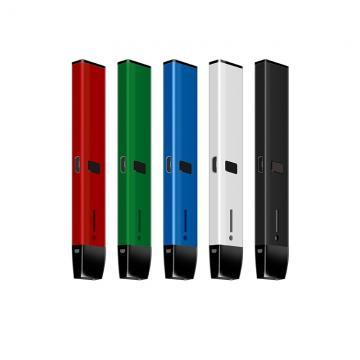 Hot selling in USA Disposable vape pen glass 510 empty tank .5 ml essential oil vaporizer cbd thick oil vape cartridge